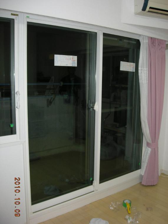 インナーウィンドウ窓窓&インプラスで・・・