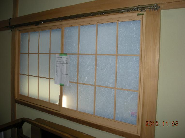 AGCインナーウィンドウ窓窓&防犯ガラスでガラス入替え!