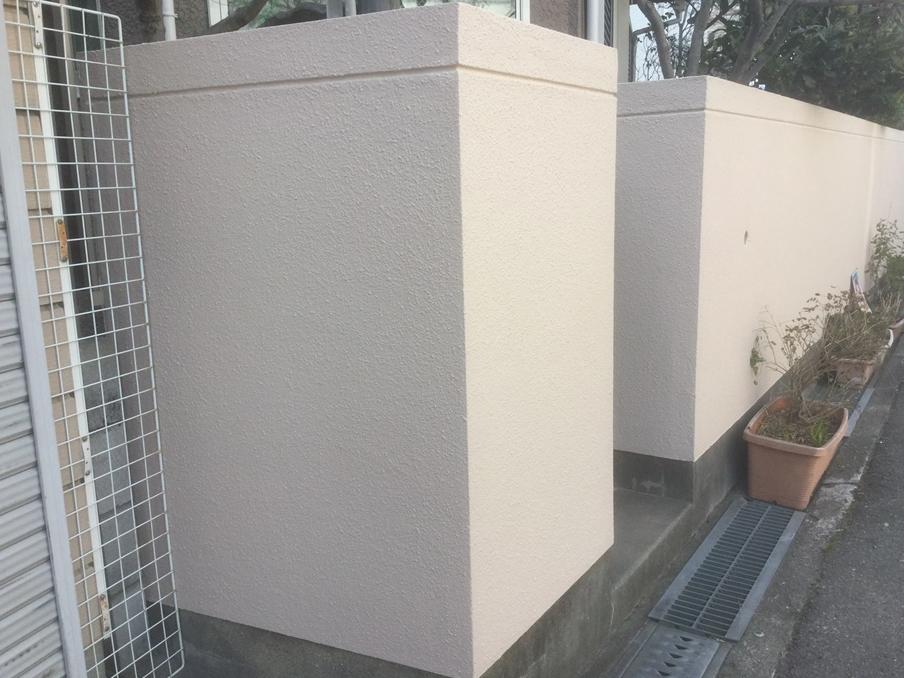 A様邸外壁塗装工事