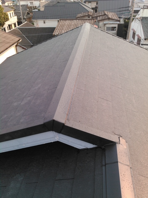 屋根カラーベストカバー工法