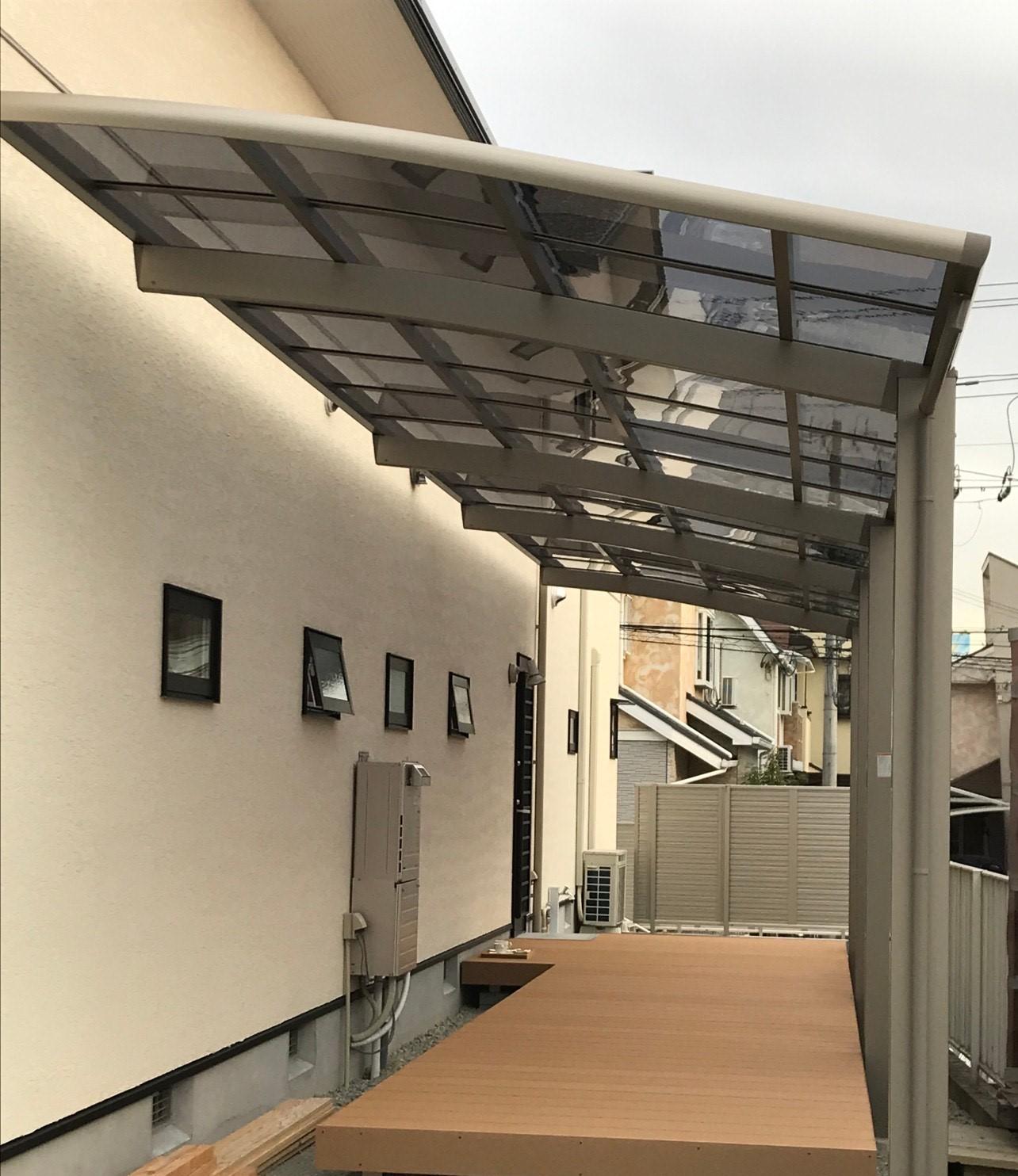 LIXILデッキ『レストステージ』&テラス屋根『ネスカR』
