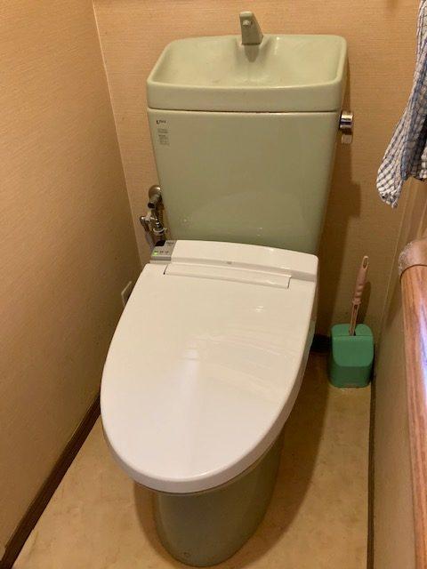 LIXILシャワートイレ取替工事